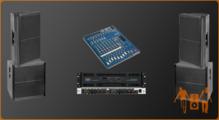 Звуковой комплект 5 кВт
