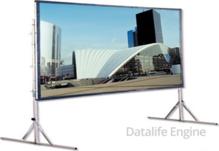 Мобильный экран Da-Lite 225*300 см