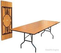 Стол прямоугольный «Рейка» Stealth 90*180 см