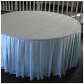 Скатерть и юбка на круглый стол (для стола Stealth 1.8 м)